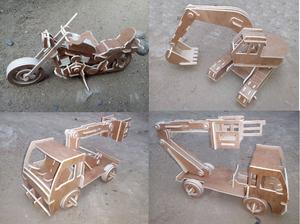 Camion juguete en madera posot class - Jugueteros de madera ...