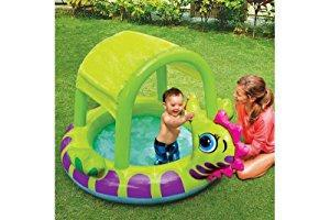 Piscina inflable caballito de mar niños