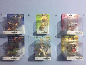 Amiibo Hunters - Coleccion Completa De 6 Amiibos