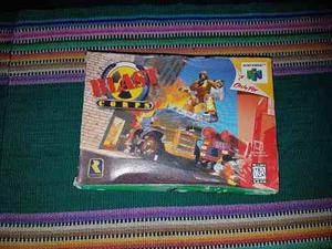 Blastcorps Nintendo 64 Con Caja Y Manual