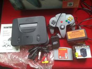 Nintendo 64 En Caja Completo