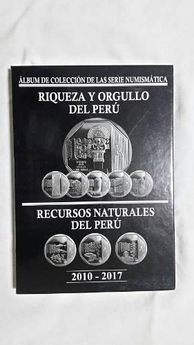 Album De Colección De Monedas Orgullo Y Riqueza Del Perú