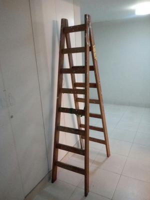 Escalera de Madera,8 Pasos Un Solo Uso