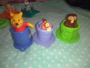 Juguetes Mc Donalds Winnie The Pooh Set De 3 Juguetes