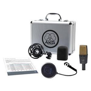 Microfono Pro Estudio De Grabacion C414 Xlii Akg + Envio