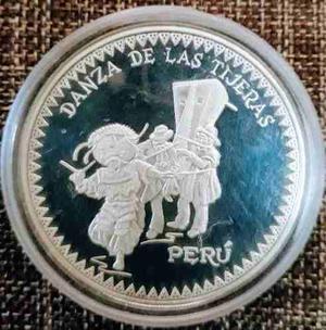 Moneda De Plata - Serie Iberoamericana Danza De Tijeras