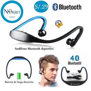 Audifono Bluetooth S19 Con micrófono Deportivos