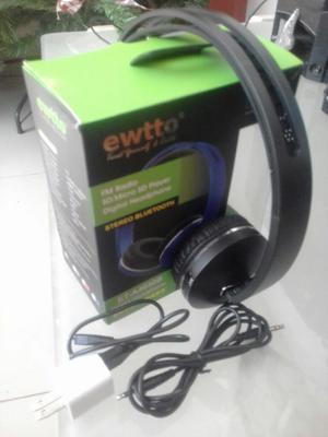 Audifonos Bluetooth Ewtto