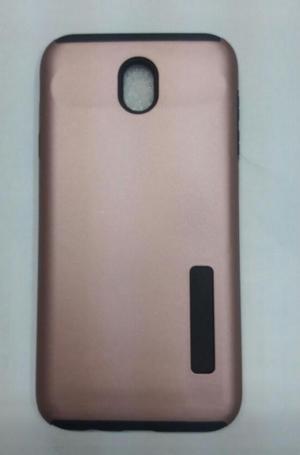 Case Protector Tipo Incipio Para Samsung J7 Pro Rosado