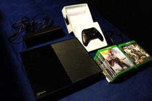 Xbox One Usado + Kinect + Mando Inalámbrico + 14 Juegos