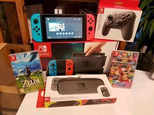 Nintendo Neon Switch