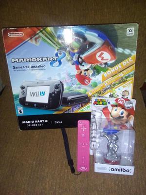 Remato Nintendo WiiU en buenas condiciones.