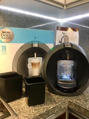 Cafetera Dolce Gusto Circolo tiene un solo uso