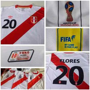 Camiseta Para Hombre Y Mujer De Perú Réplica Aaa1