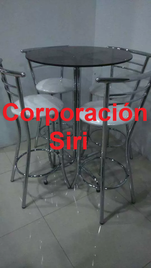 Mesas y sillas altas para bar o discoteca posot class - Mesas de bar altas segunda mano ...