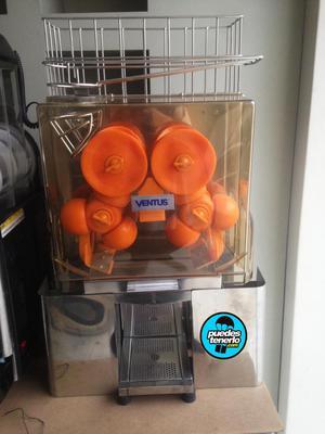 Máquina Exprimidora 25 Naranjas x minuto acero inox. marca