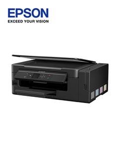 Ep Multifuncional De Tinta Continua Epson L495, Imprime/esca