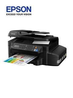 Ep Multifuncional De Tinta Continua Epson L656, Imprime/esca