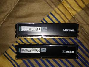 Memoria Ram Kingston Ddr3 Hiperx Black 16gb 2x8gb  Bus