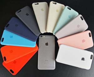 Protector Case Silicona Iphone 5s 6 6s 7 8 X Plus Se Apple