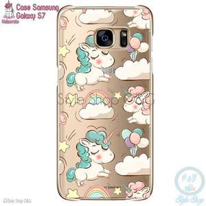 Case Carcasa Funda Celular Unicornio Samsung S7
