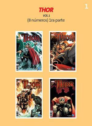 Colección Comics Perú21 de Thor y The Mighty Thor
