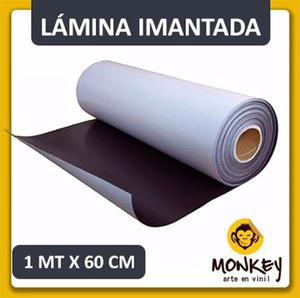Lamina Imantada 1 Metro X 60 Cm, Por Mayor Y Menor