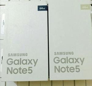 Samsung Galaxy Note 5, 4gb Ram, 32gb Y 64gb, Cam.16mpx Y