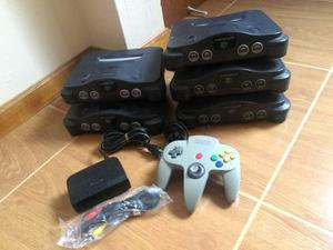 Consolas Nintendo 64 / N64 (accesorios Completos)