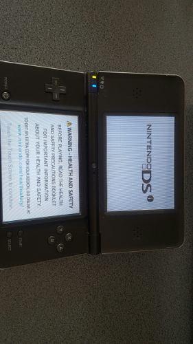 Nintendo Ds Xl Negro Con Cargador