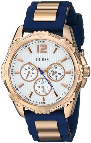 Reloj de Mujer Guess Ul8 Sporty Comfortable Navy Oro