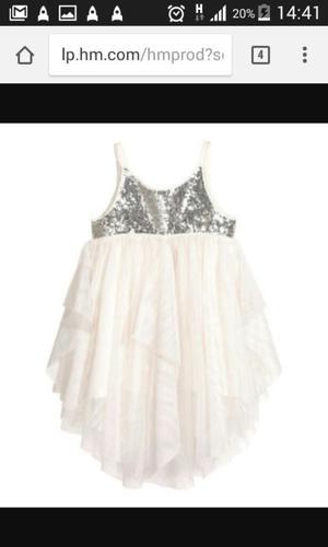 Vestido de Niña Hym