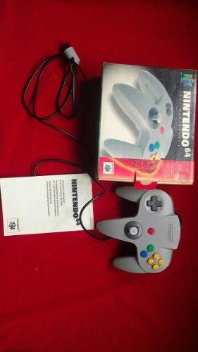 Control Nintendo 64 En Caja (Conservado)