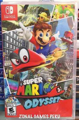 Super Mario Odyssey Para Switch Disponible-delievry-envios