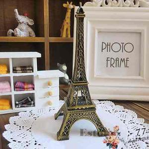 Torre Eiffel De Metal Adorno Decorativo Sala Escritorio Ofic