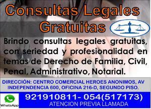 ASESORÍA LEGAL GRATUITA ABOGADO