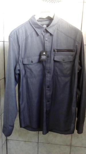 Camisa Elegante Sport Talla M Slim