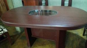 Vendo mesa carpeta y sillas para colegio lima posot class for Comedor seis sillas