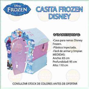 Casa De Juegos Para Niñas Diseño Frozen Disney