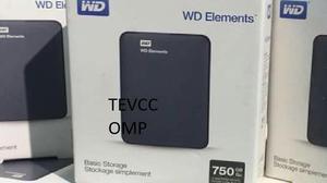 DISCO DURO EXTERNO 750GB WESTERN DIGITAL SELLADO