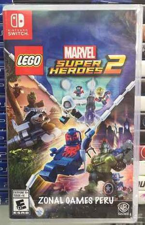 Lego Marvel Super Heroes 2 Nintendo Switch Delievry-envios