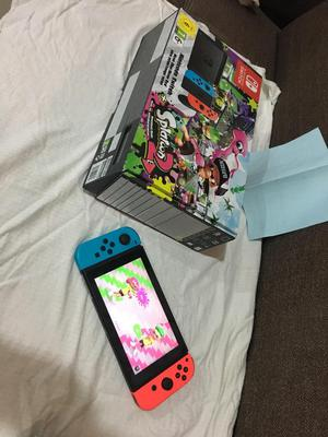 Nintendo Switch Edicion Splatoon