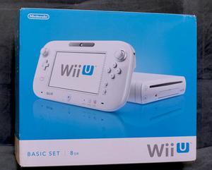 Nintendo Wiiu Completo Con Juego Como Nuevo