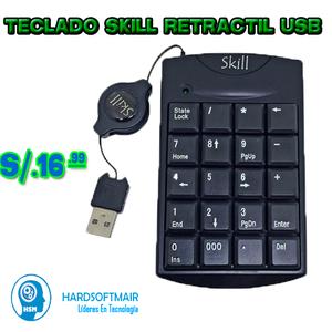 TECLADO NUMERICO EXTERNO USB LAPTOP Y CPU