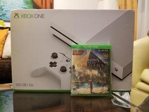 Xbox One S 500GB NUEVO SELLADO ASSASSINS CREED