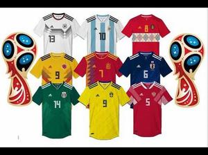 Camisetas Perú y 32 Selecciones del Mundial Rusia