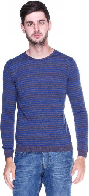 Sweater Benetton Moda 102fk Azul 70 POR CIENTO DESCUENTO