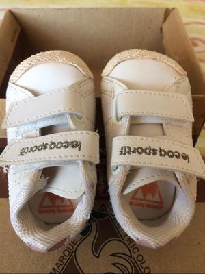 Zapatillas de Bebe Marca Le Coq Talla 19