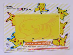 NEW NINTENDO 3DS PIKACHU YELLOW EDITION NUEVO SELLADO