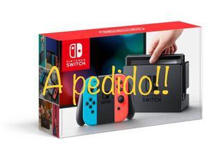 Nintendo Switch! A Pedido!
